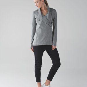 Lululemon Coast Wrap II Size 8 Grey